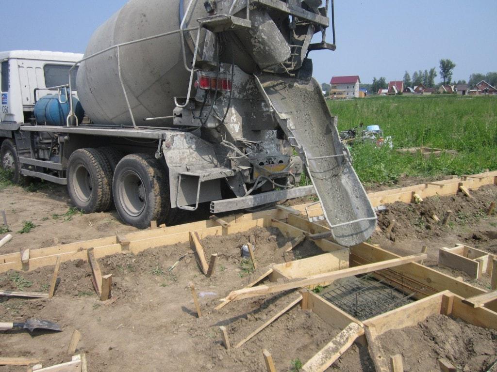 бетон миксер доставка